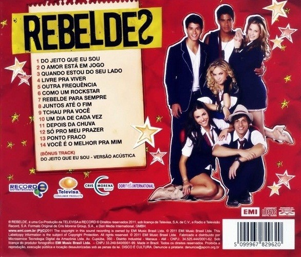 Rebeldes   CD    Rebeldes