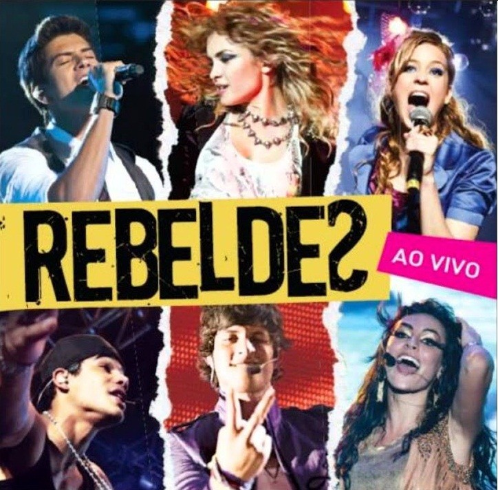 Rebeldes   CD    Rebeldes ao vivo