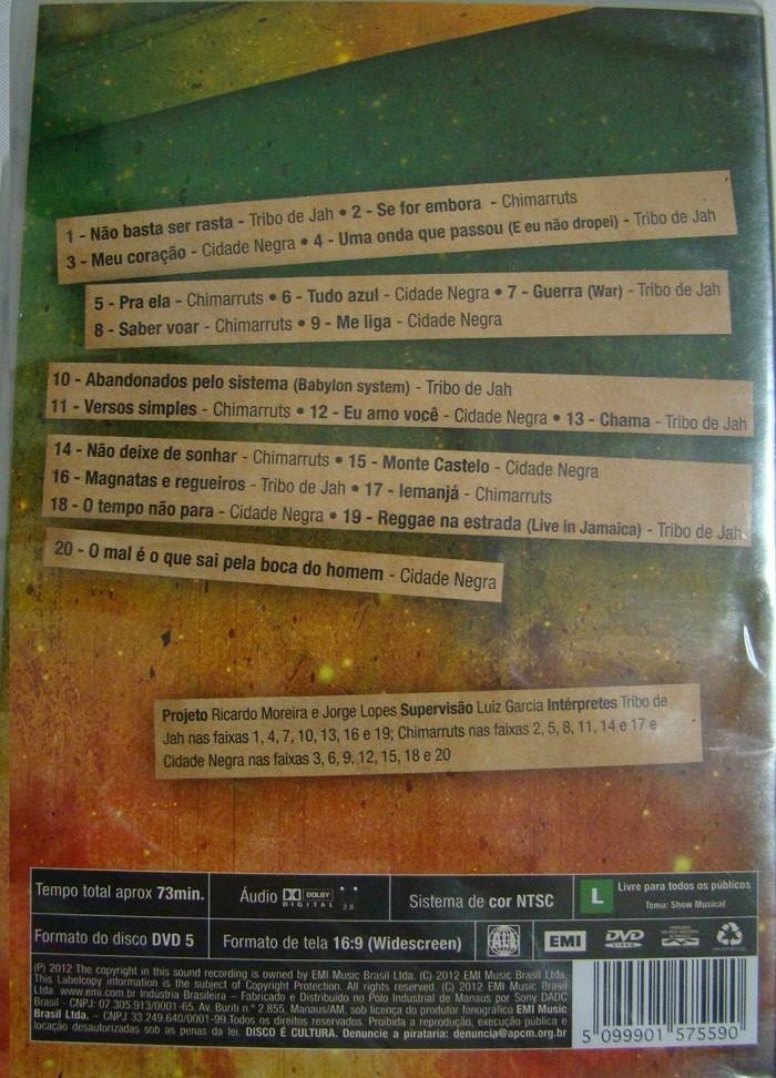 Reggae na veia ao vivo  DVD