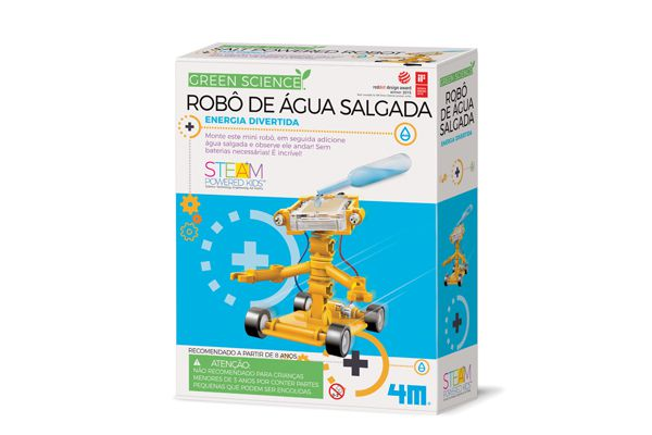 Robo de agua salgada   4M