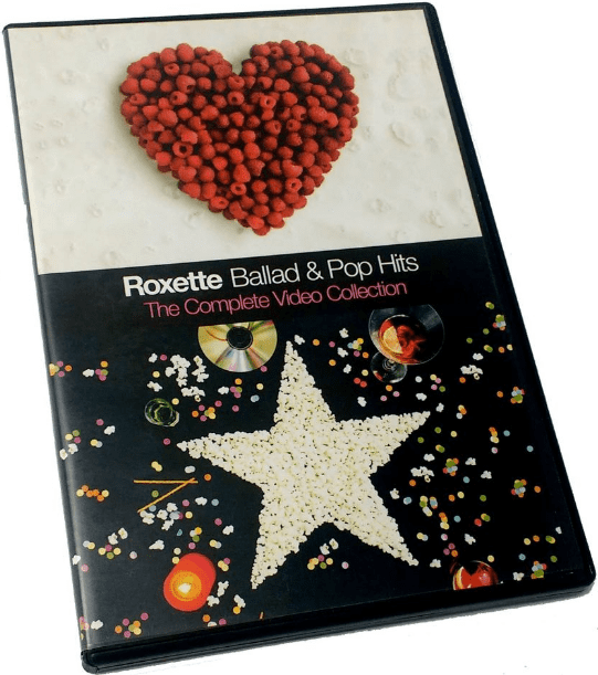 Roxette Ballad e Pop Hits The Complete Video Collection DVD