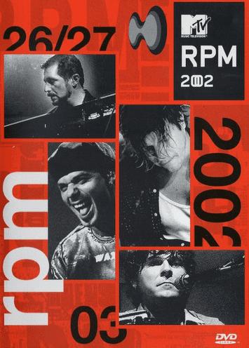 RPM 2002 Mtv DVD
