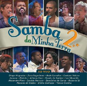 Samba Da Minha Terra 2 Ao Vivo CD