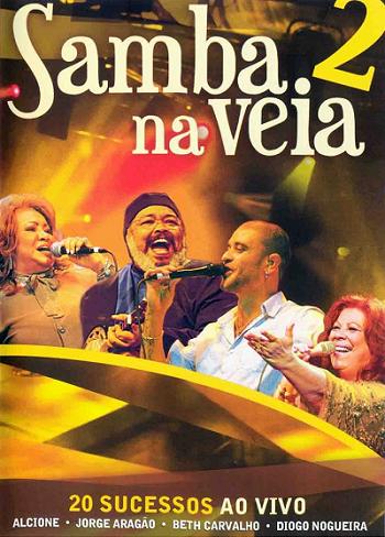Samba na veia 2  DVD