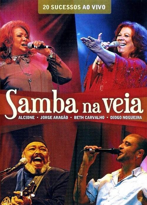 Samba na veia Ao vivo    DVD