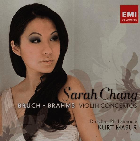 Sarah Chang Bruch Brahms Violin Concertos CD