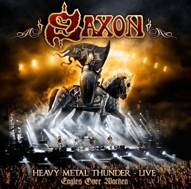 Saxon Heavy Metal Thunder Live CD Duplo e DVD