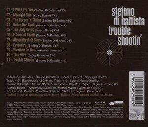Stefano Di Battista Trouble Shootin CD
