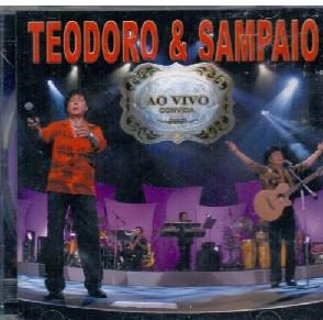 Teodoro & Sampaio Ao Vivo Convida Cd
