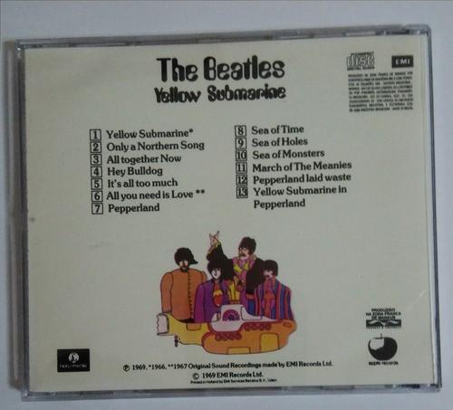 The Beatles Yellow Submarine Cd