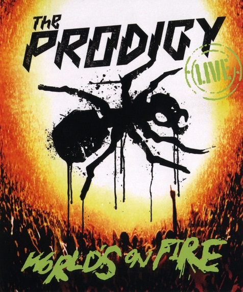 The Prodigy Live Words on Fire    DVD e CD