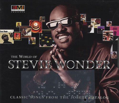 The World of Stevie Wonder BOX CDs