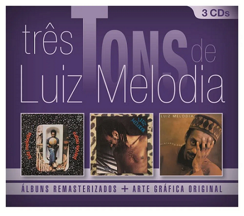 Tres Tons de Luiz Melodia  BOX CDs