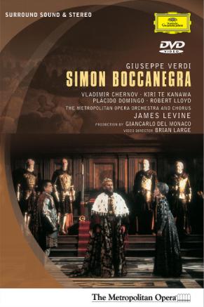 Verdi Simon Boccanegra Livene DVD