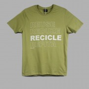 T Shirt Reuse Reduse King Joe