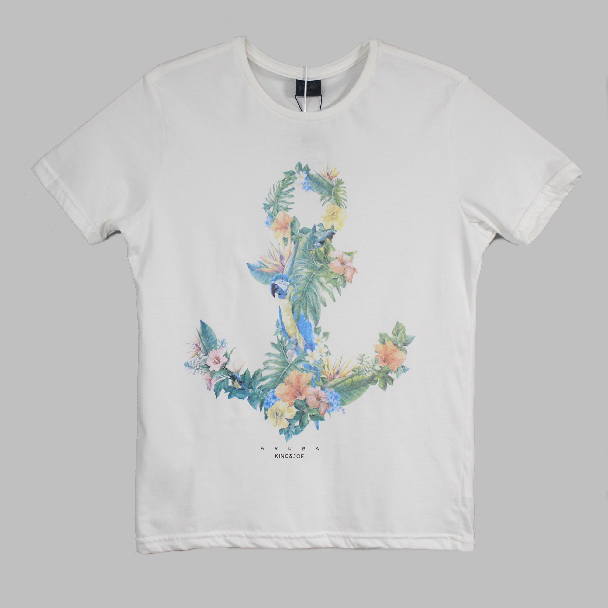 T Shirt Ancora Floral King e Joe
