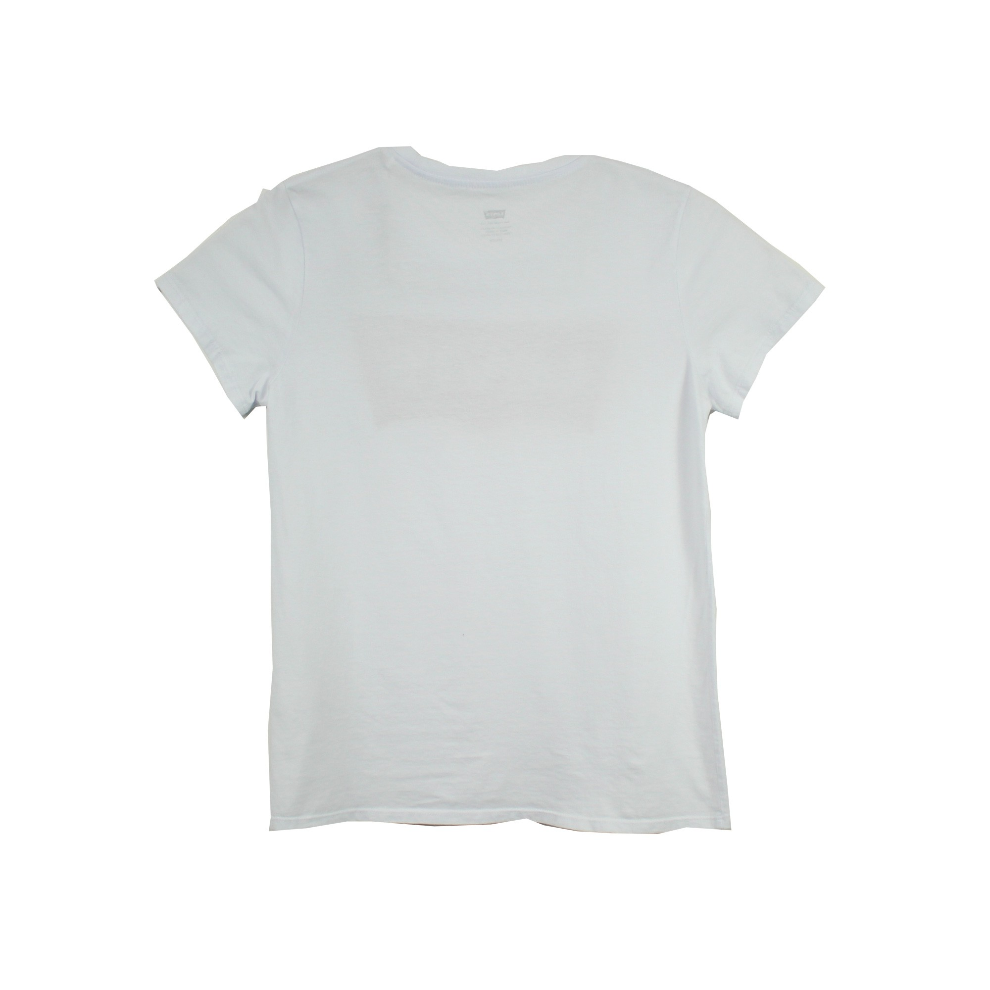 Camiseta Logo Levis Feminina