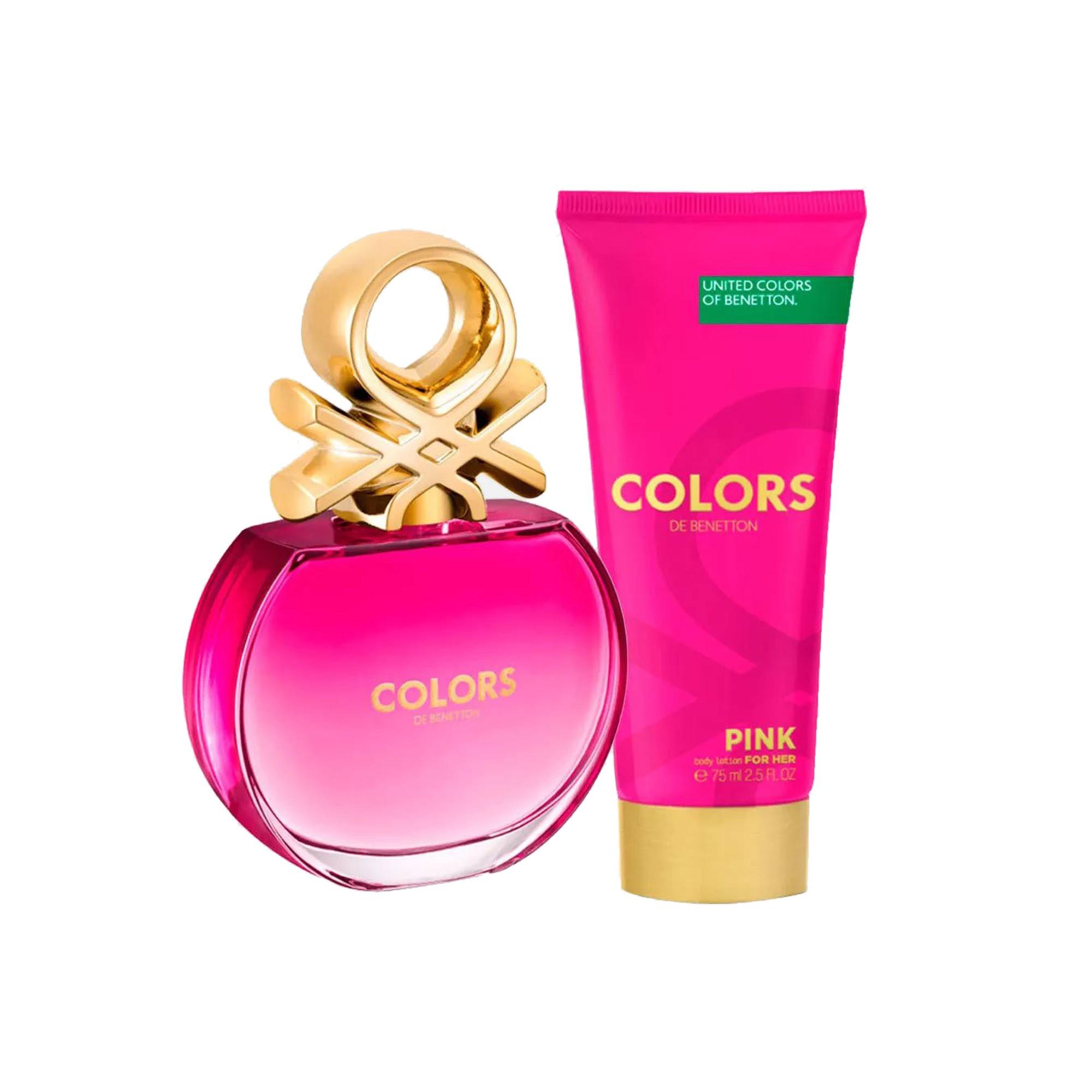 Cofferet Beneton Colors Pink 80 Ml