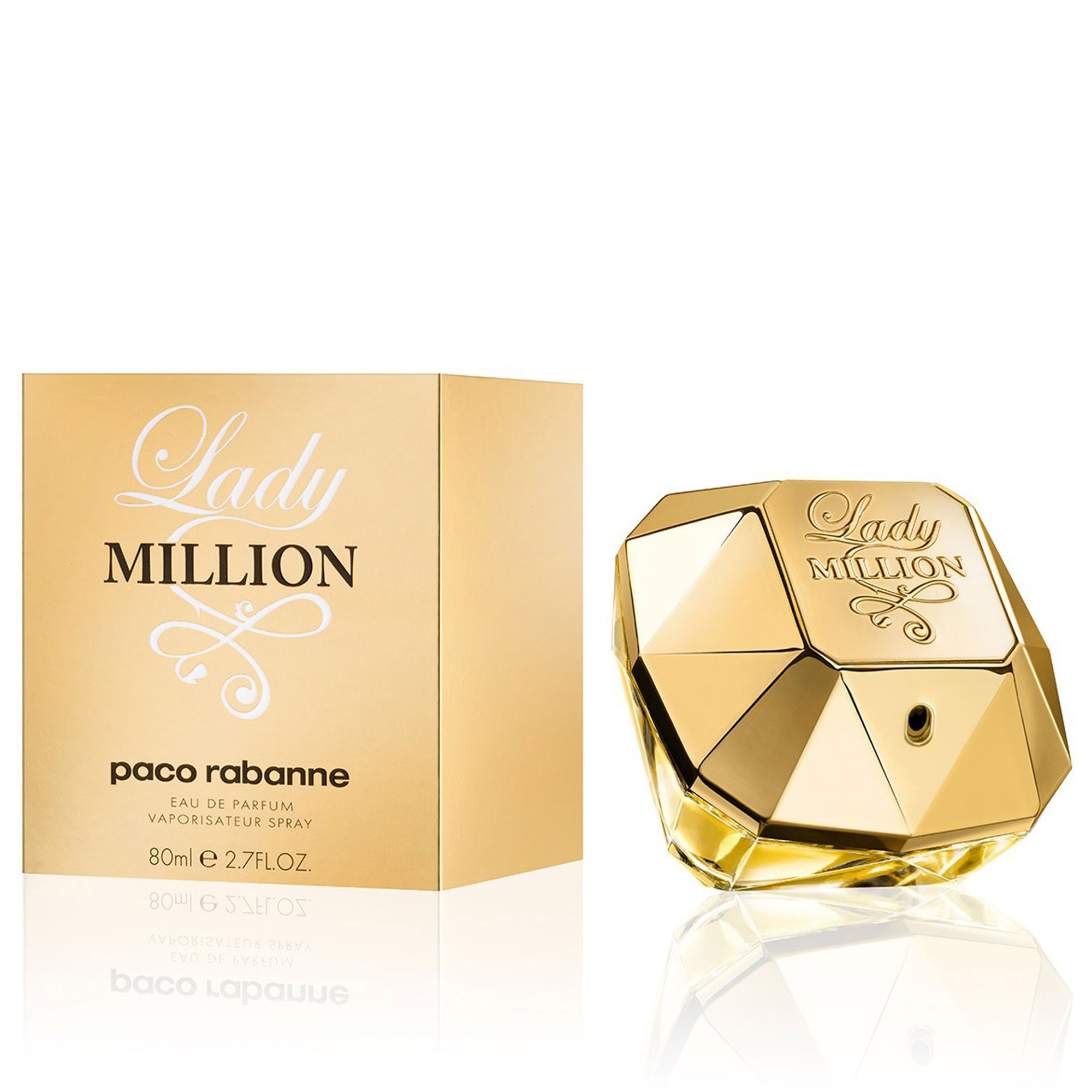 Perfume Lady Millon 80ml.