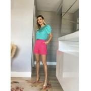 Shorts crepe pregas