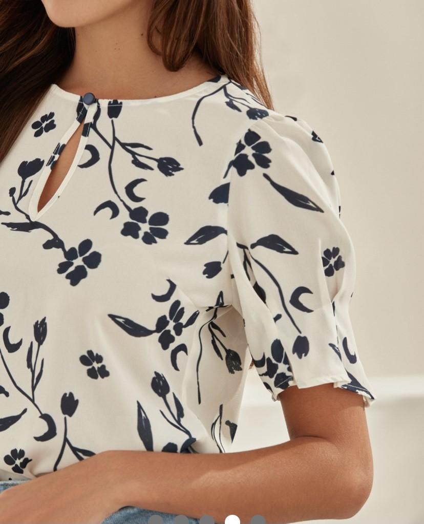 Blusa estampa floral