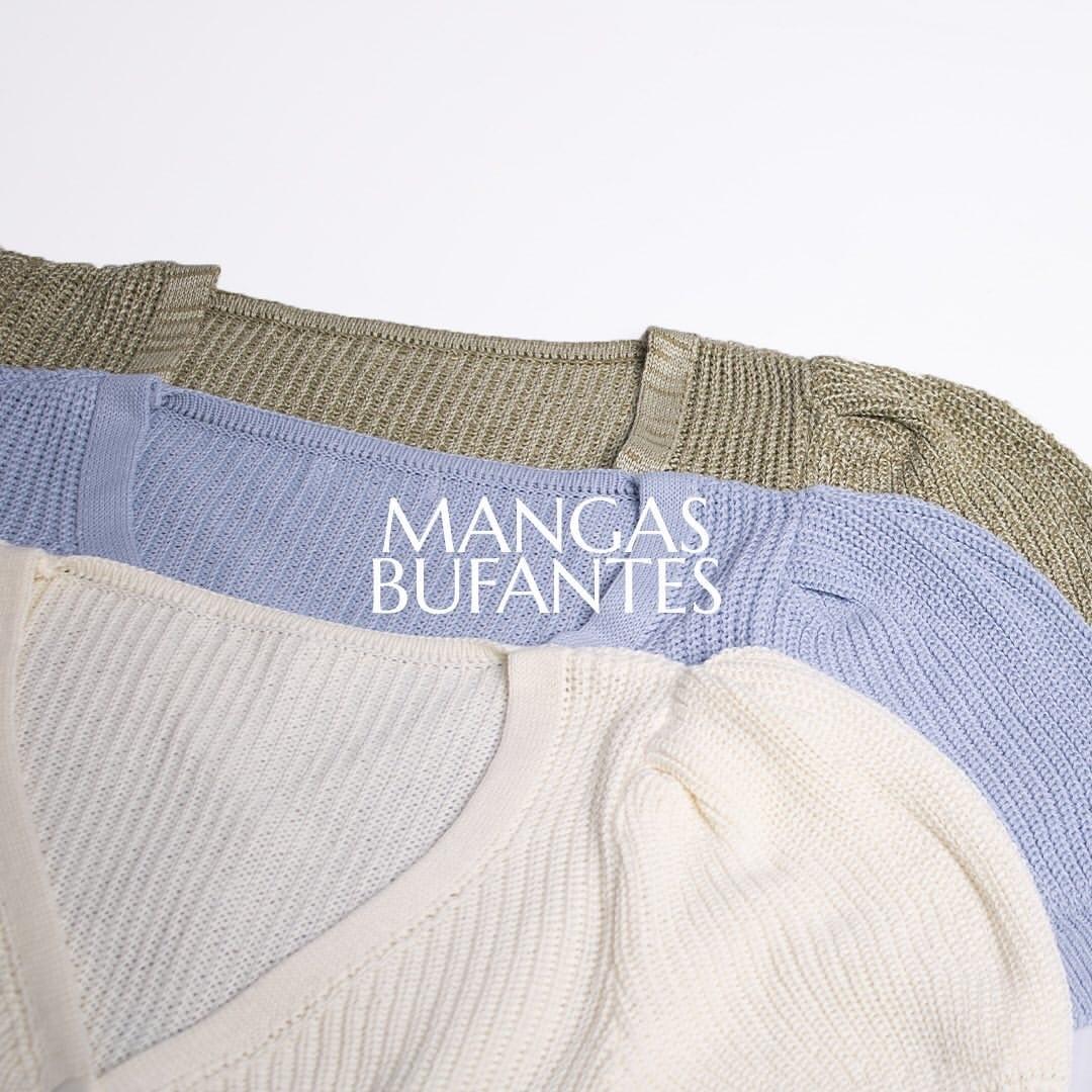 Casaquinho de trico manga curta
