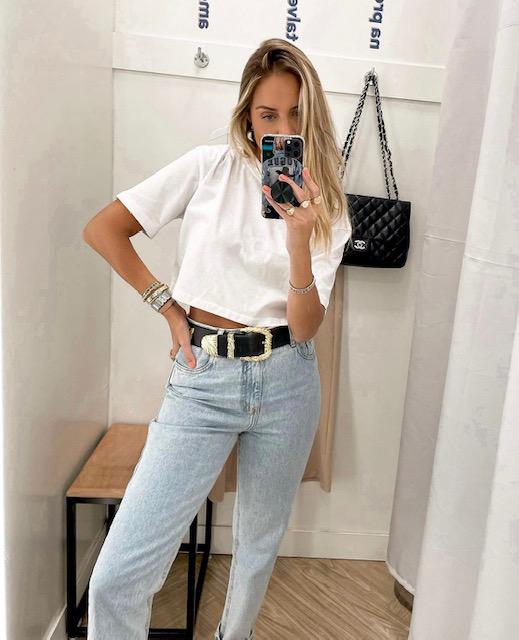 Cropped tshirt básico liso