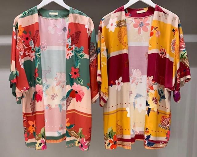 Kimono Floral tamanho único