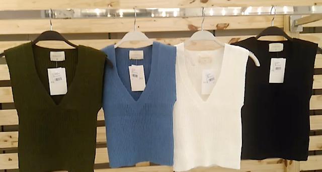 Regata tricot gola V