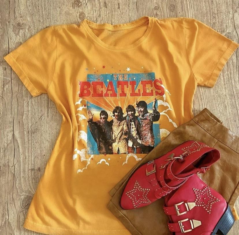 T-Shirt Beatles estonada