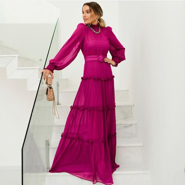 Vestido Chifon Athenas