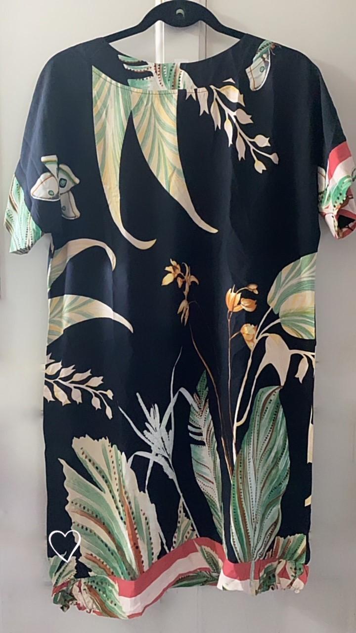 Vestido floral arraial do cabo