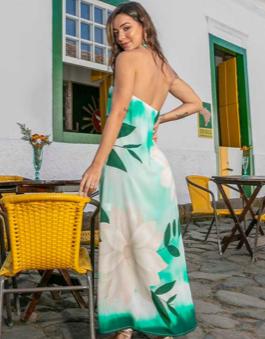 Vestido frente única Macarella