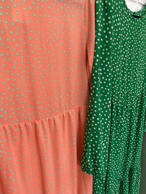 Vestido Midi Poá Color