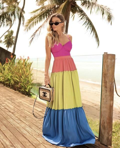 Vestido Multicolor Malibu