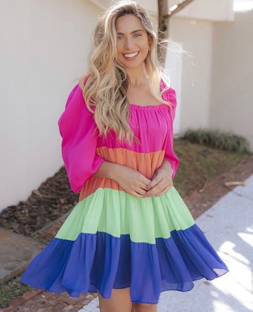 Vestido Serafina Color III
