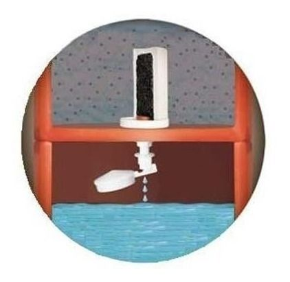 Kit 4 Vela + 4 Boia Dosadora, Para Filtro Barro Água Mineral