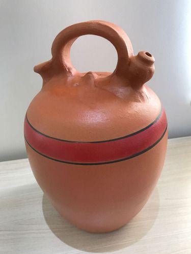 Moringa De Barro Cerâmica De Bico, Água Fresca 5 Litros