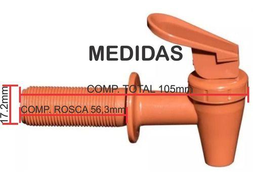 Cx 120 Torneira De Plástico, Extra Longa, Bebedouro