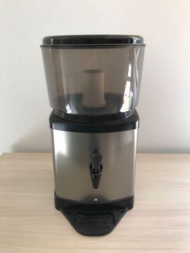 Bebedouro Para Água Filtro De Água Inox + Kit 4 Vela Carvão