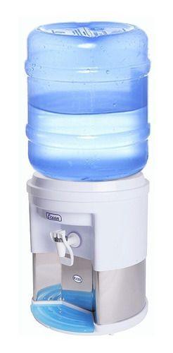 2 Suporte Para Galão De Água Mineral 10/20 L Acabamento Inox