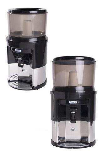 Filtro De Água Alcalina Inox Dupla Ação + Vela Tripla Ação