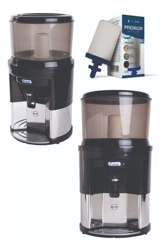 Filtro De Água Alcalina Dupla Ação + Vela Tripla Ação Brinde