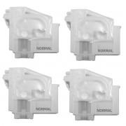Cartucho Damper para Reposição de Impressoras Epson EcoTank - Normal (Modelo 1) - Kit com 4 Unidades