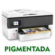 IMPRESSORA MULTIFUNCIONAL HP OFFICEJET PRO 7720 (A3) COM BULK INK INSTALADO - TINTA PIGMENTADA