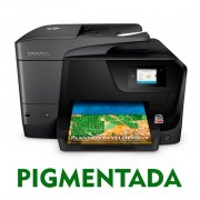 IMPRESSORA MULTIFUNCIONAL HP OFFICEJET PRO 8710 COM BULK INK INSTALADO - TINTA PIGMENTADA