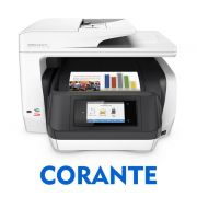 IMPRESSORA MULTIFUNCIONAL HP OFFICEJET PRO 8720 COM BULK INK INSTALADO - TINTA CORANTE