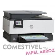 IMPRESSORA MULTIFUNCIONAL HP OFFICEJET PRO 9010 COM BULK INK INSTALADO - TINTA COMESTÍVEL PARA PAPEL ARROZ