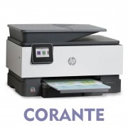 IMPRESSORA MULTIFUNCIONAL HP OFFICEJET PRO 9010 COM BULK INK INSTALADO - TINTA CORANTE