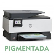 IMPRESSORA MULTIFUNCIONAL HP OFFICEJET PRO 9010 COM BULK INK INSTALADO - TINTA PIGMENTADA